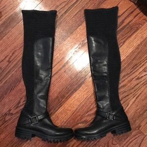 Kendall and Kylie knee high boots